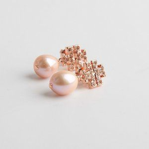 Tory Burch Rose Earrings